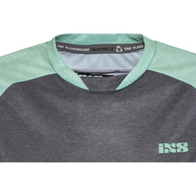 IXS Progressive 7.1 Trail Shortsleeve Jersey Women black/turquoise